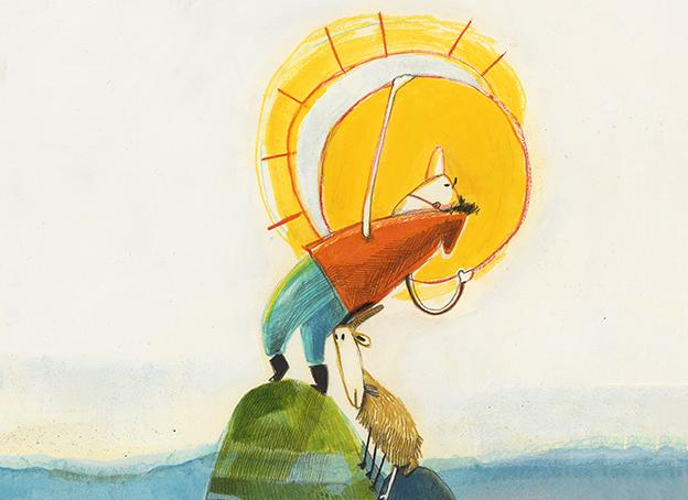 O rapaz que queria agarrar o sol